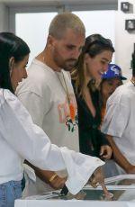 AMELIA HAMLIN at Chrome Hearts Store in Miami Design District 04/07/2021