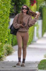 AMELIA HAMLIN Heading to Pilates Class in West Hollywood 04/21/2021