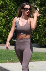AMELIA HAMLIN Leaves Pilates Class in West Hollywood 04/12/2021