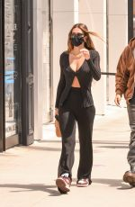 AMELIA HAMLIN Out Shopping in Beverly Hills 04/27/2021