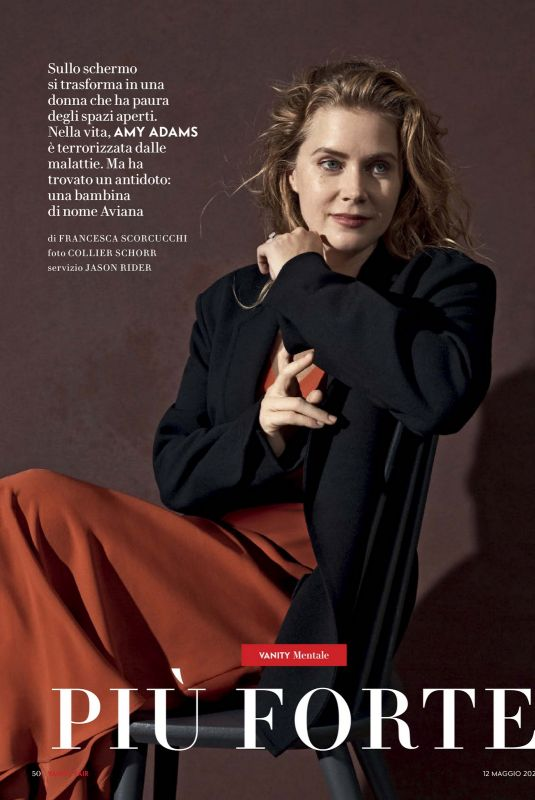 AMY ADAMS in Vanity Fair Magazine, Italy May 2021