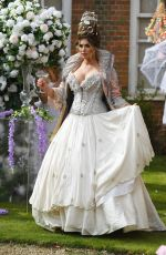 AMY CHILDS on the Set of The Only Way is Essex 04/20/2021