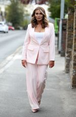 AMY CHILDS on the Set of The Only Way is Essex 04/29/2021