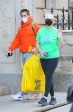 AMY SCHUMER and Chris Fischer Out in New York 04/05/2021