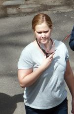 AMY SCHUMER on the Set of Life & Beth in New York 04/28/2021