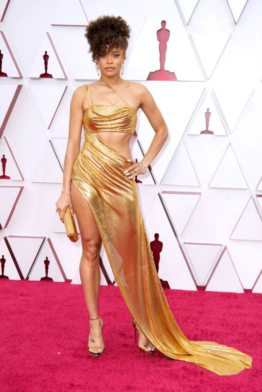 ANDRA DAY at 93rd Annual Academy Awards in Los Angeles 04/25/2021