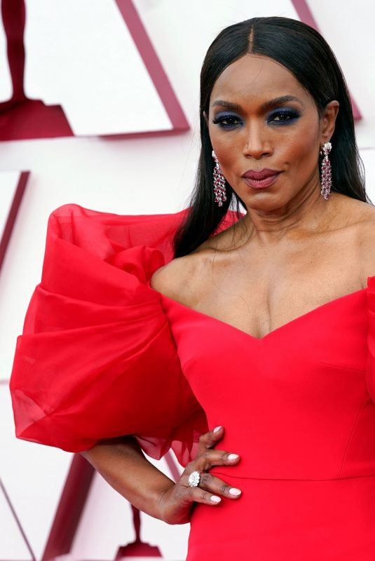 ANGELA BASSETT at 93rd Annual Academy Awards in Los Angeles 04/25/2021