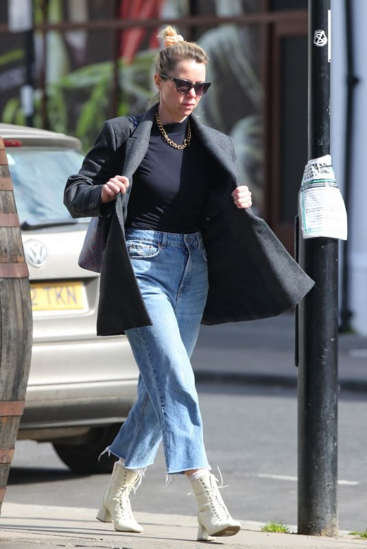 ANNA MAXWELL Out Shopping in London 04/29/2021