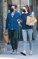 ANNA OSCEOLA Out Shopping in Los Feliz 04/16/2021