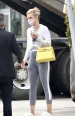 ANNALYNNE MCCORD Out and About in Los Angeles 04/22/2021