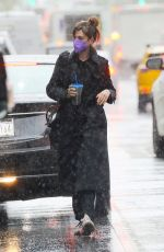 ANNE HATHAWAY Out and About in New York 04/15/2021