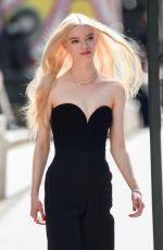ANYA TAYLOR-JOY on the Set of a Tiffany Photoshoot in New York 04/13/2021