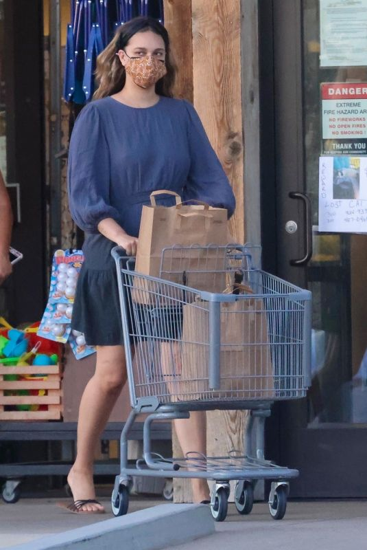 APRIL LOVE GEARY Shopping at Vintage Grocers in Malibu 04/07/2021