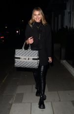ARABELLA CHI at IT Club Dover Street in Mayfair 04/17/2021