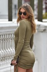 ARABELLA CHI Out in London 04/13/2021