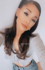 ARIANA GRANDE - Instagram Photos 04/10/2021