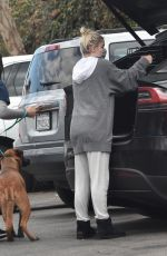 ARIEL WINTER Takes Her Dog to a Veterinarian in Studio City 04/26/2021