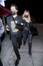 ASHLEY BENSON at Delilah in West Hollywood 04/03/2021