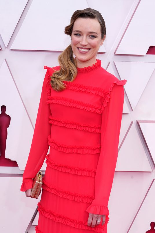 ASHLEY FOX at 93rd Annual Academy Awards in Los Angeles 04/25/2021