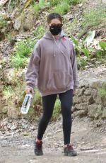 ASHLEY TISDALE Out Hiking in Los Feliz 04/14/2021