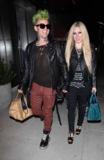 AVRIL LAVIGNE and Mod Sun Night Out in Beverly Hills 04/15/2021