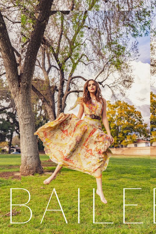 BAILEE MADISON for Roes & Ivy Journal, April 2021