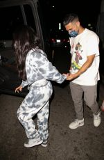 BECKY G Out for Dinner in West Hollywood 04/12/2021