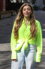 BECKY HILL Leaves Global Radio in London 04/19/2021