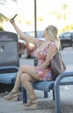 BELLA BUNNIE AMOR Out and About in Miami 04/01/2021