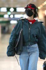 BELLA HADID Arrives at Milan Airport 04/112/2021