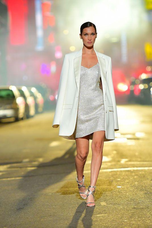 BELLA HADID at Michael Kors Fashion Show in New York 04/08/2021