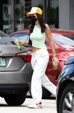 BELLA HADID Out for Lunch in Miami 04/06/2021
