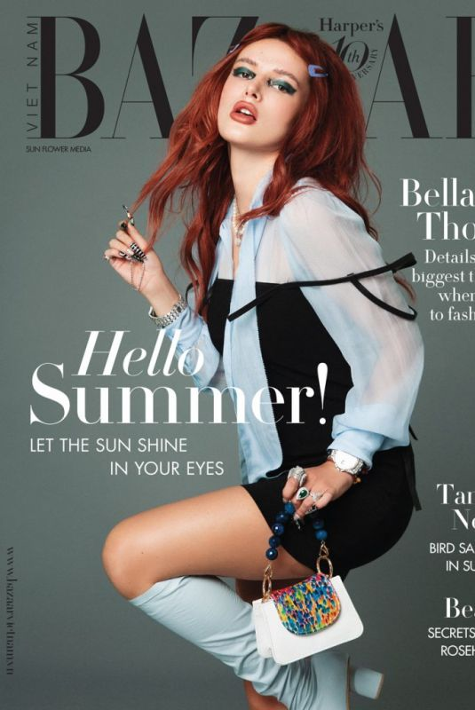 BELLA THORNE in Harper's Bazaar Magazine, Vietnam May 2021