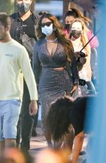 BEYONCE Boards a Boat in Miami 04/17/2021