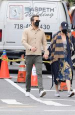 BLAKE LIVELY and Ryan Reynolds Out in New York 04/28/2021