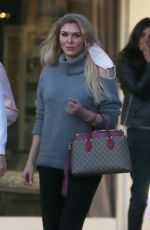 BRANDI GLANVILLE at Il Segreto in Los Angeles 04/15/2021