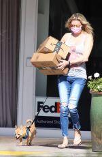 BRANDI GLANVILLE Leaves a Post Office in Bel-Air 04/14/2021