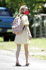 BRIE LARSON Out on Vacation in Hawaii 04/22/2021