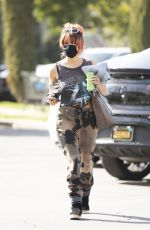 BRITTANY FURLAN Out Shopping in Calabasas 04/09/2021