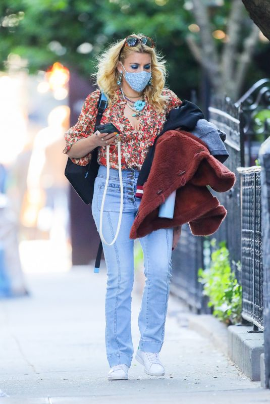 BUSY PHILIPPS Out in New York 04/26/2021