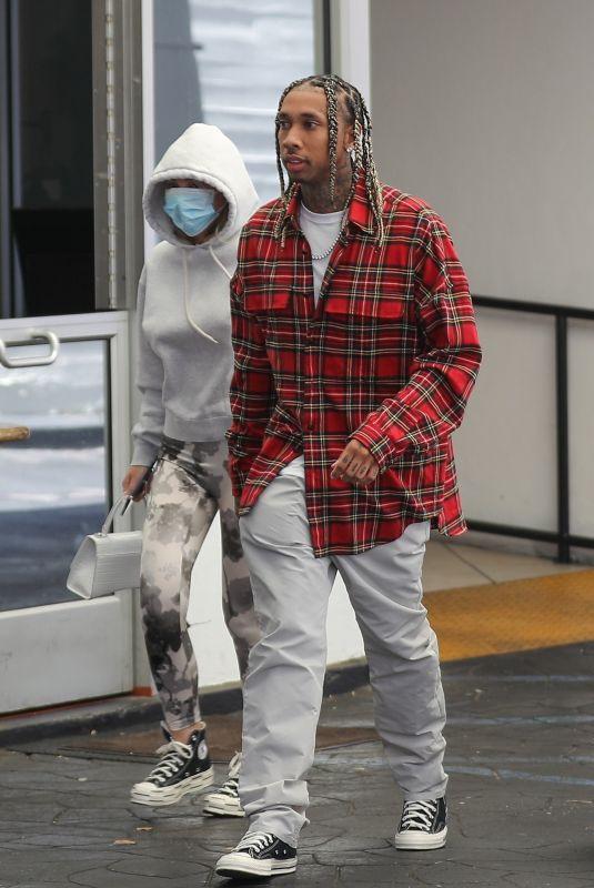 CAMARYN SWANSON and Tyga at E Baldi in Beverly Hills 04/20/2021