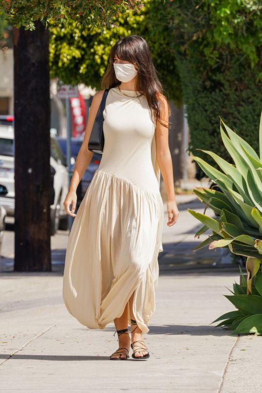 CAMILA MORRONE Out for Fresh Juice in Los Angeles 04/15/2021