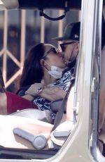 CARA SANTANA and Shannon Leto Out Kissing in Los Angeles 04/10/2021