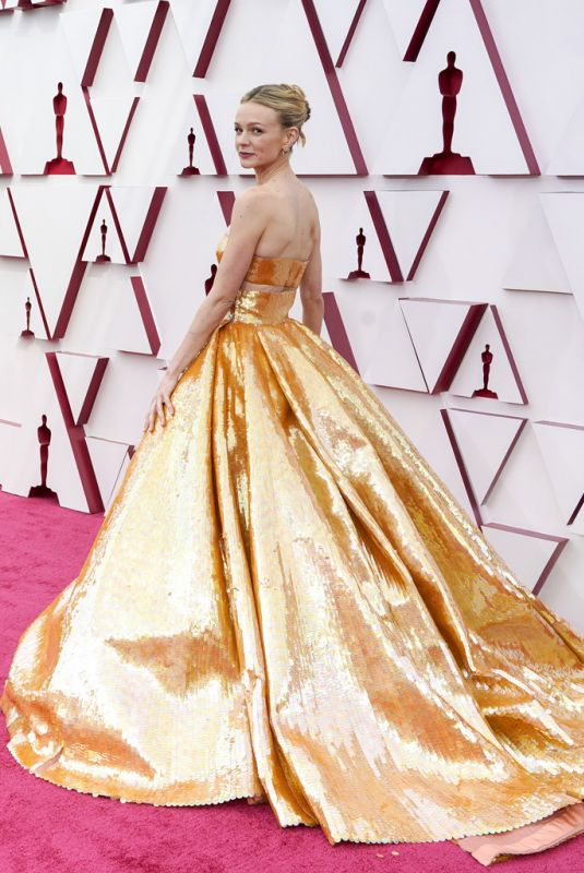 CAREY MULLIGAN at 93rd Annual Academy Awards in Los Angeles 04/25/2021