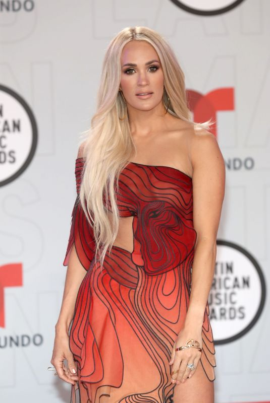 CARRIE UNDERWOOD at 2021 Latin American Music Awards in Sunrise 04/15/2021