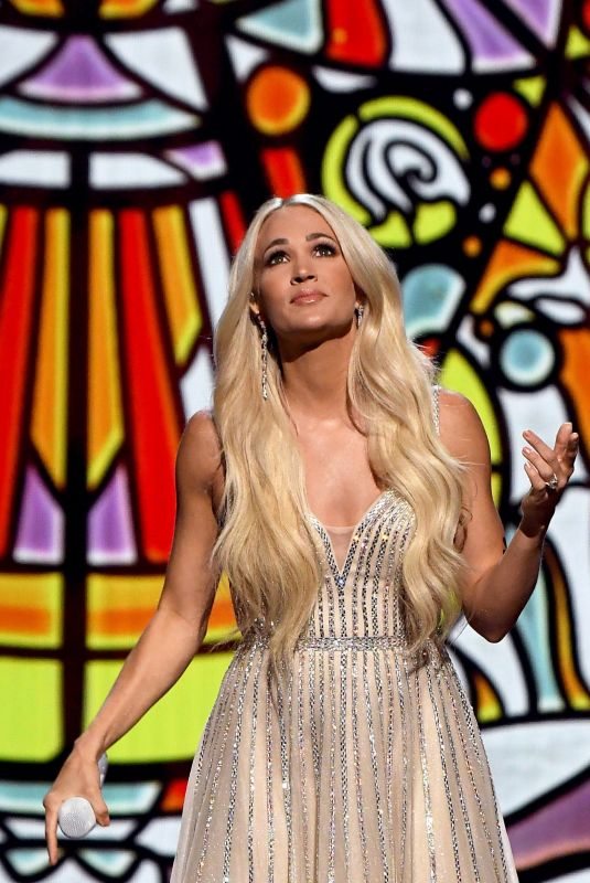CARRIE UNDERWOOD at 56th Academy of Country Music Awards in Nashville 04/18/2021