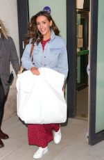 CATHERINE TYLDESLEY Leaves The One Show in London 04/21/2021