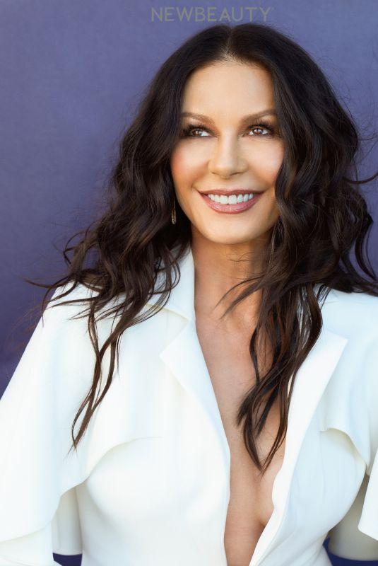 CATHERINE ZETA JONES for New Beauty Magazine, March 2021