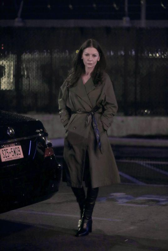 CATHERINE ZETA JONES on the Set of Prodigal Son in New York 04/19/2021