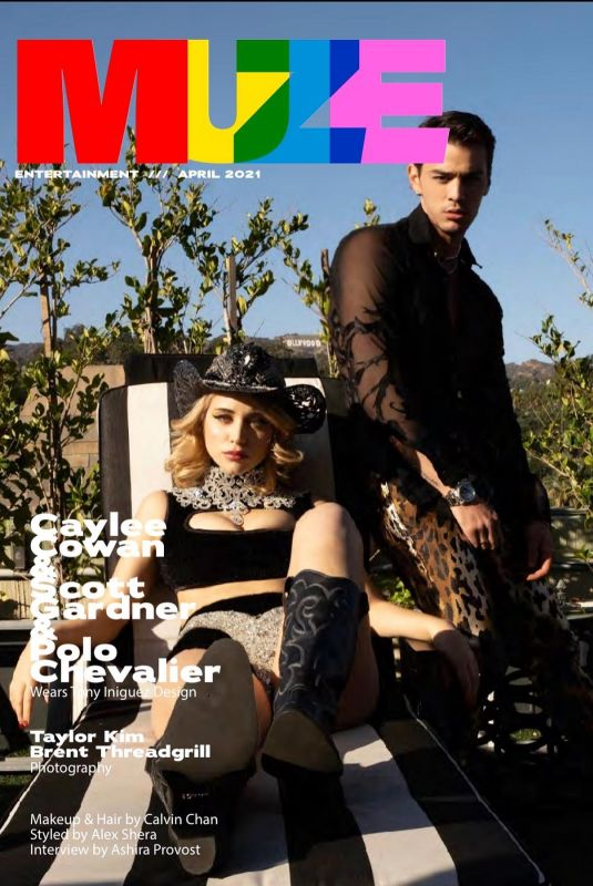 CAYLEE COWAN in Muze Magazine, April 2021